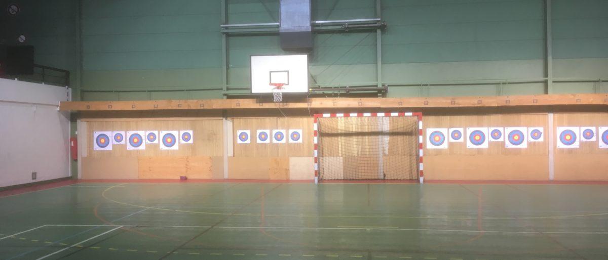 Permalien vers:Le pas de tir au gymnase de l'Essouriau